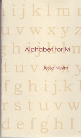 Alphabet for M by Jesse Nissim from dancing girl press